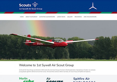 1st Sywell Air Scout Group
